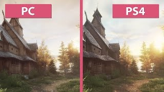 The Vanishing of Ethan Carter – PC vs. PS4 – Unreal Engine 3 vs. 4 Graphics Comparison