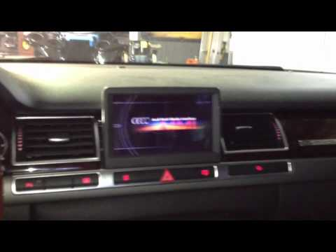 Audi A8 Mmi Problem Youtube