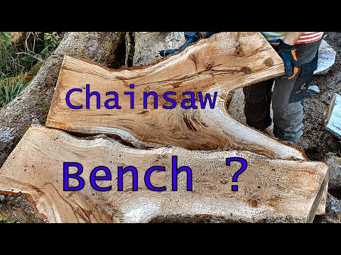 Fairy-tale Style Bench With Chainsaw : 24 Steps (with Pictures)