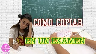 COMO COPIAR EN UN EXAMEN 📖 Video no recomendado para profesores!! LA DIVERSION DE MARTINA