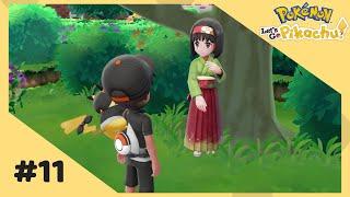 Pokemon Let's Go Pikachu - Ep. 11 (Celadon City Gym Leader Erika) + Shiny Chansey capture