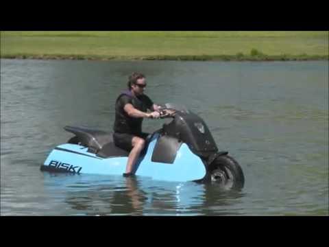 Sepeda Motor Amfibi