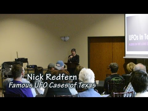 Nick Redfern: UFOs in Texas - Aliens in the Lone Star State