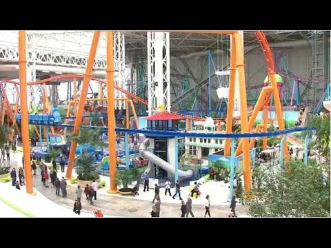 American Dream mall opens, along with Nickelodeon theme park
