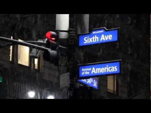 Snow Storm, New York, November 07, 2012