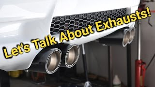 lets talk about exhaust modifications for the e92 m3