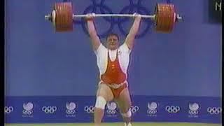 【1988年ソウルオリンピック】ウエイトリフティング