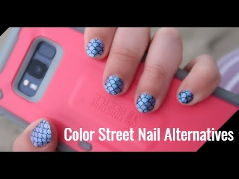Review Of Color Street, Dashing Diva, Lily & Fox And Incoco Nail Strips