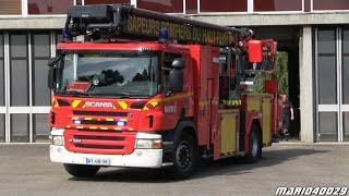 Véhicules d'urgence pompiers SDIS 68 CIS Mulhouse (compilation)