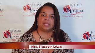 Re-Elect Erika Y. Mitchell for Atlanta School Board District 5, Supporter Mrs. Elizabeth Lewis