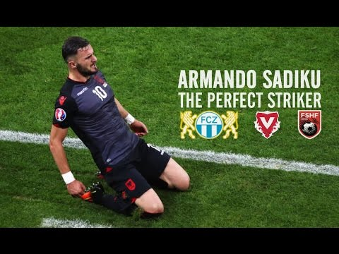 Armando Sadiku ● The Perfect Striker ● FC Vaduz/ FC Zürich/Albania