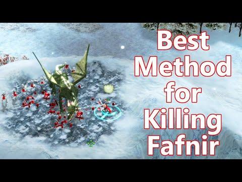 Best Method for Killing Fafnir - Stronghold Legends |