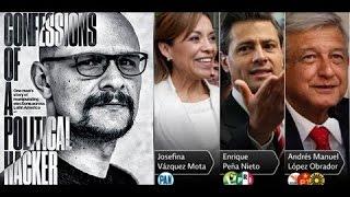 Un hacker colombiano ayudó a Peña Nieto a ganar la presidencia.