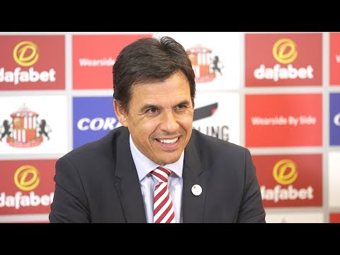 Chris Coleman's First Full Press Conference After Becoming Sunderland Manager