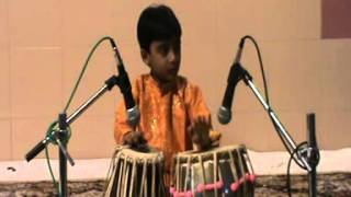 Hemant Joshi Tabla solo part 1- Indian academy of Music program