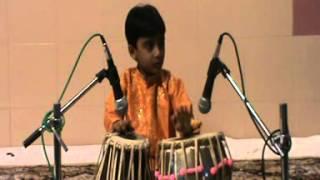 Hemant Joshi Tabla solo part 1- Indian academy of Music program