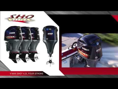 V6 V MAX SHO Outboards