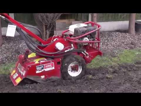 DIY: Basic Garden Landscaping Part 7 - Man V 9hp Rotavator