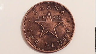 Ghana Coin One Penny 1958  The only Video on the channel.1 Пени 1958 Монеты Гана.Qepik.нумизматика