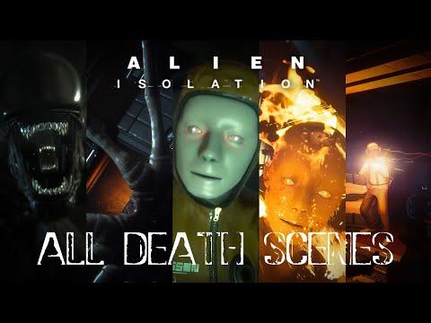 Alien Isolation All Death scenes |