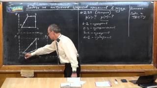 Урок 163. Задачи на графики процессов в газах