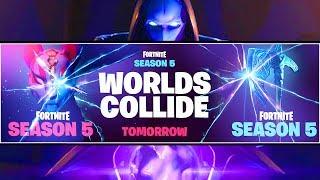 *NEW* Fortnite Season 5 TEASER EXPLAINED! WORLDS COLLIDE! (SEASON 5 STORYLINE)