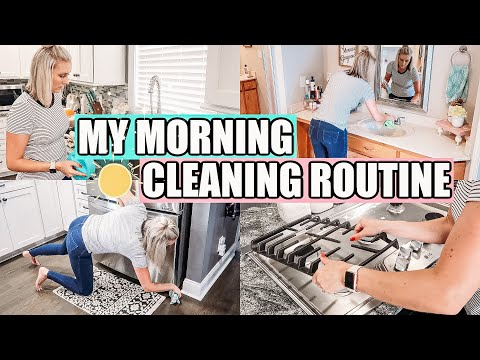 🌞MY MORNING CLEANING ROUTINE 2020| CLEANING MOTIVATION |CLEAN WITH ME- JESSI CHRISTINE