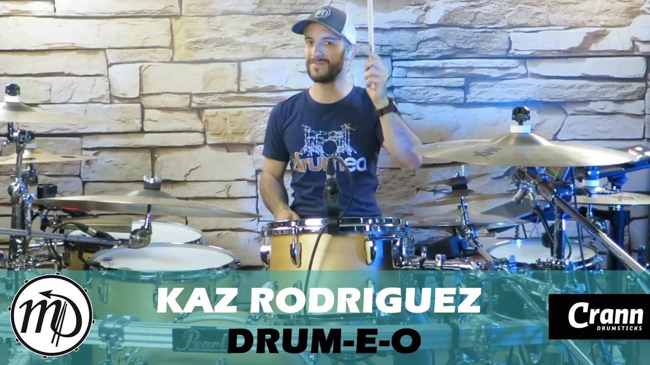 Kaz Rodriguez - Drum-E-O - Drum Cover Drumeo (Electro-Rock) PEARL Maple Gum