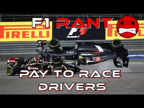F1 Rant: Pay Drivers
