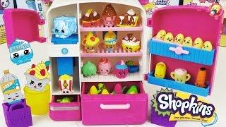 Шопкинс игровой набор Холодильник Эксклюзивные фигурки / Shopkins So Cool Fridge Refrigerator Toy