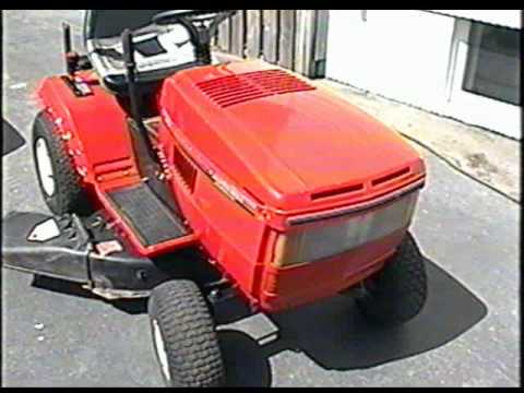 Start Up Of The Mtd Lawn Tractor With 12 Hp Briggs Engine