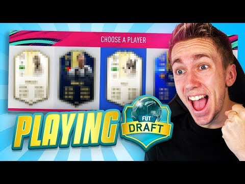 I ACTUALLY PLAYED A FUT DRAFT?