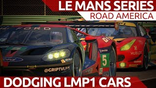 Dodgeball with LMP1 cars! iRacing Le Mans Series at Road America