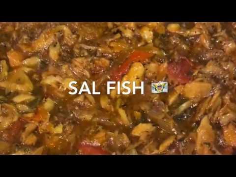 Sal Fish Stewed | Salt Fish | Virgin Islands 🇻🇮 Recipe