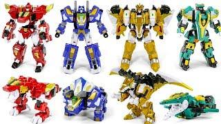 Dinocore Evolution 2 Dinobot Mega D Fighter Tyranno Tri Dragon Krono Dinosaur Robot Toys