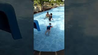 Si dodot yang lagi blajar berenang