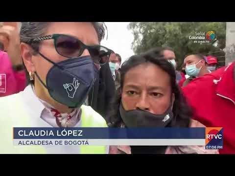 Alcaldesa Claudia López fue abucheada en Kennedy   RTVC Noticias