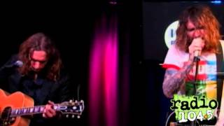 The Darkness - Love Is Not The Answer  (Studio Session at Radio 104.5)