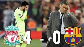 Liverpool inflicted yet more humiliation and embarrassment upon barcelona in the champions league following a 4-0 win at anfield, their semi-final 2nd leg...