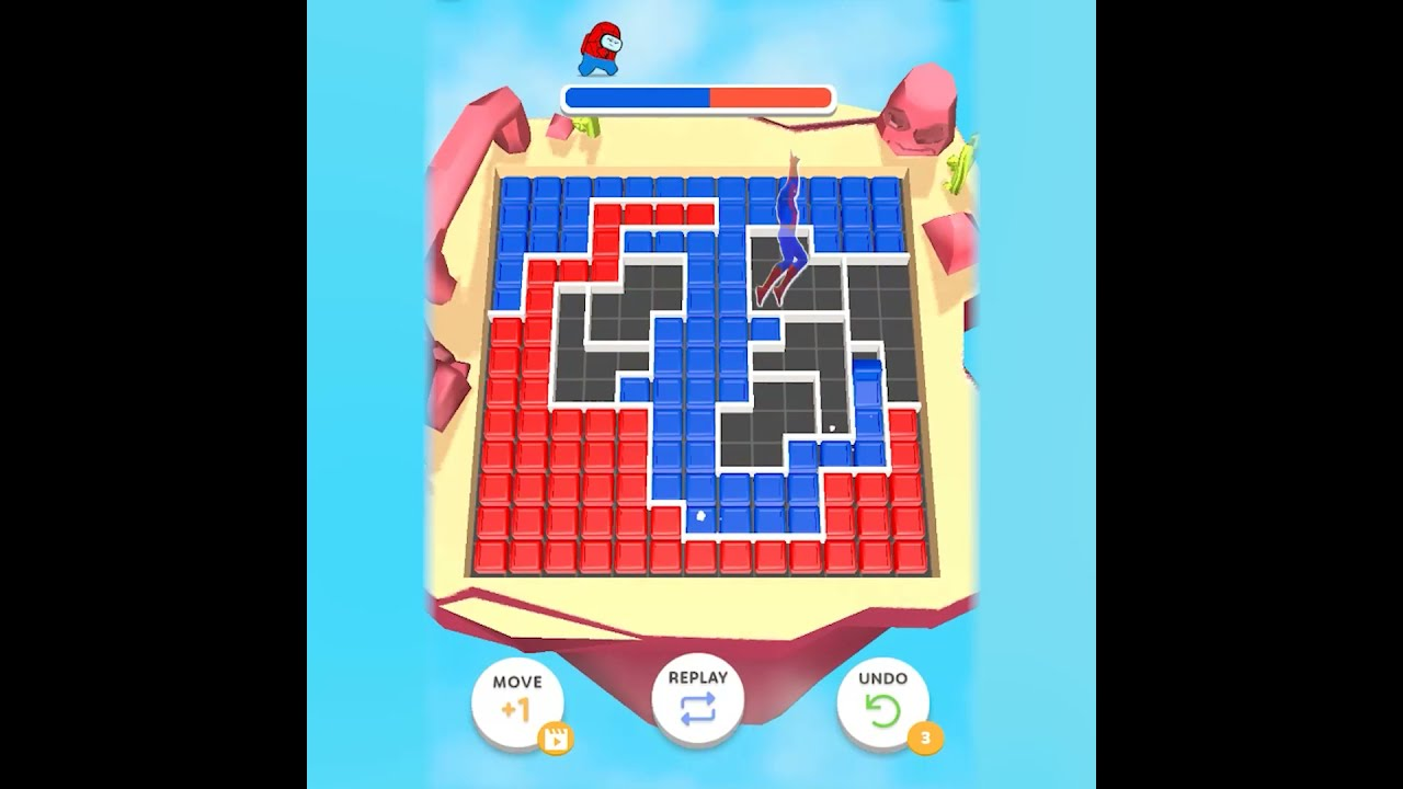 Download Sexy girl playing Block Clash (1)