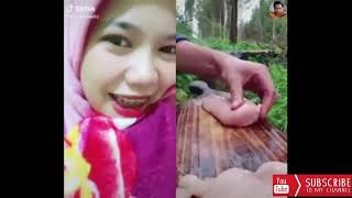 Girls React On Chicken Breast - Recipes - Happy Reaction - Satisfying Reaction - Try Not To Laugh