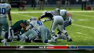 IGN Video Madden NFL 10 Xbox 360 Eagles vs Cowboys