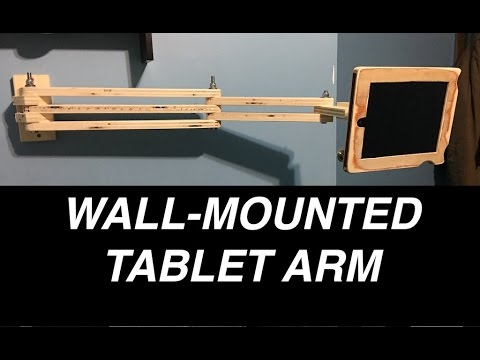 Wall Mounted Tablet Arm Youtube