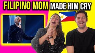 Foreigners react to FILIPINO HUMOR! Jokoy explains WHY his FILIPINO MOM made him cry!