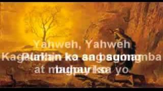 yahweh ,tibok ng puso minus one with lyrics