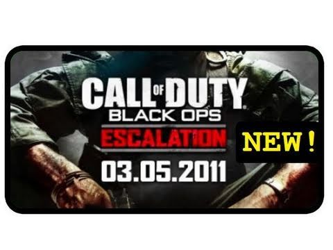 Black Ops Escalation Zombies Call of the Dead  Map Pack 2