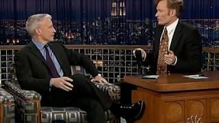 Conan O'Brien 'Anderson Cooper 4/3/05