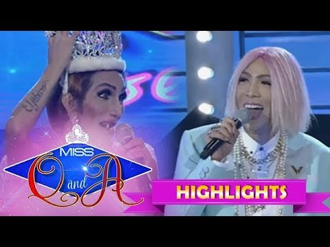 It's Showtime Miss Q & A: Vice Ganda is amused with Odessa