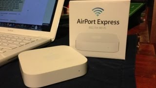 04.Apple Airport Express (2nd Generation): Overview & Setup