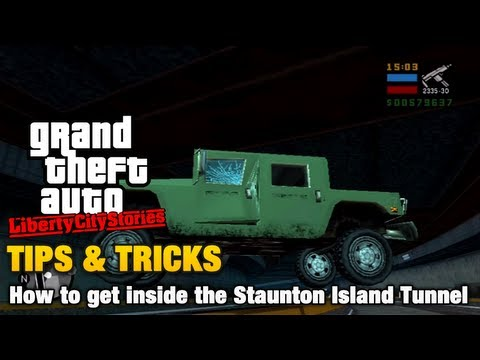 Gta Liberty City Stories Tips Tricks How To Get Inside The Staunton Island Tunnel